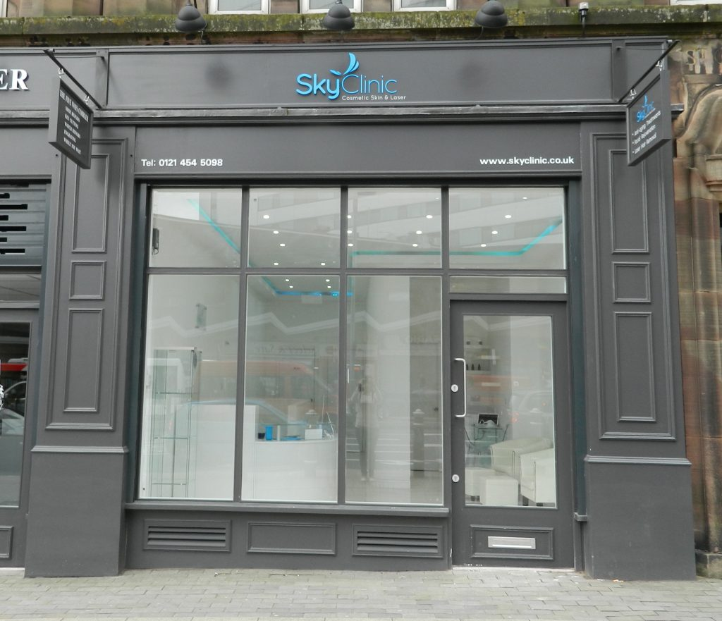 Sky Clinic shop front
