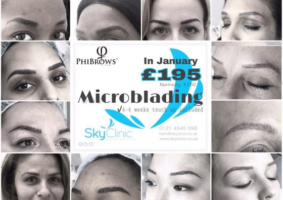 Microblading offer Sky clinic