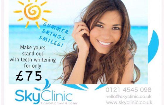 Teeth Whitening Offer Sky Clinic