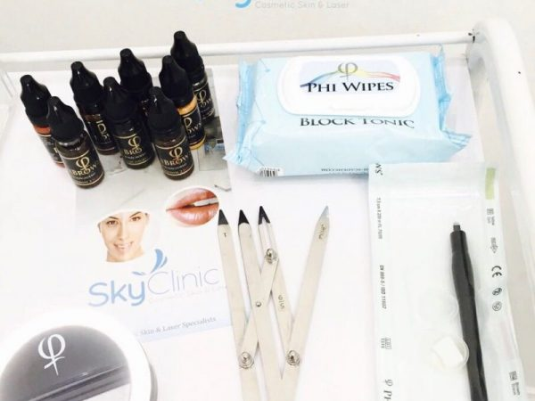 PHIBROWS MICROBLADING SKY CLIINIC