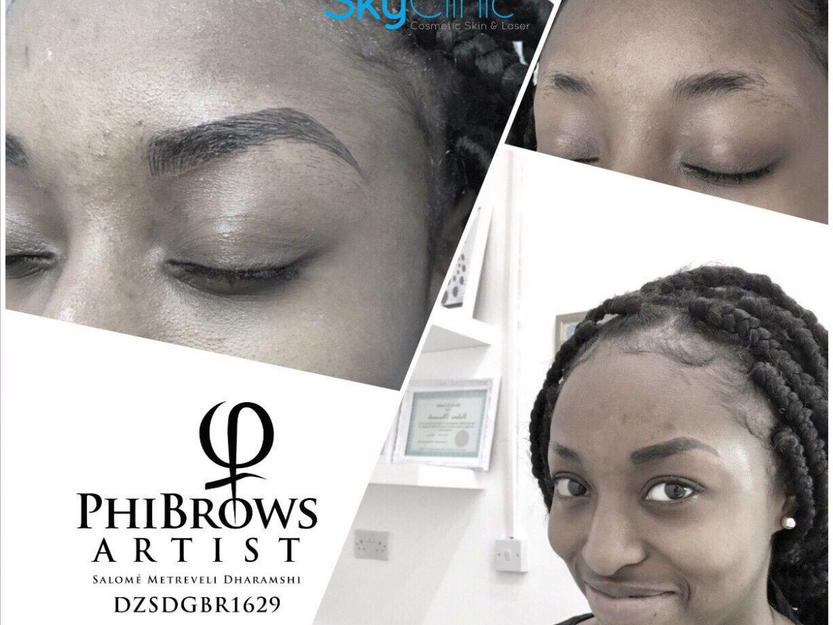 Eyebrow tattoo Sky Clinic