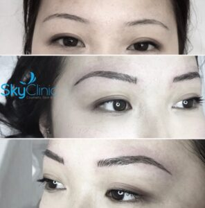 Asian permanent makeup