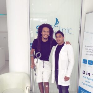 Walsall FC Star Defender Kory Roberts Visits Sky Clinic