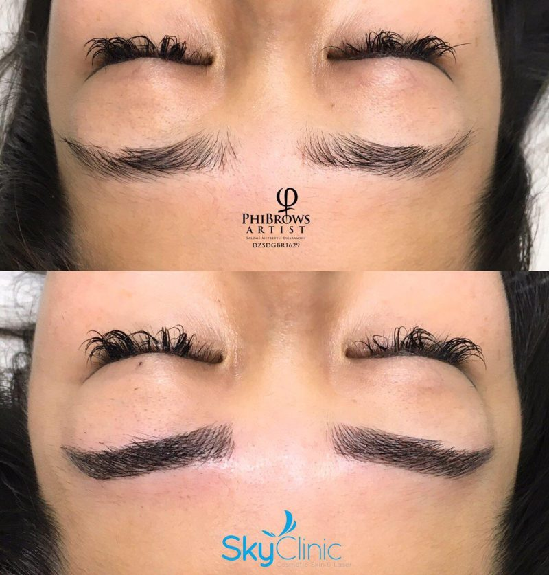 MICROBLADING PHIBROWS EYEBROWS SKY CLINIC